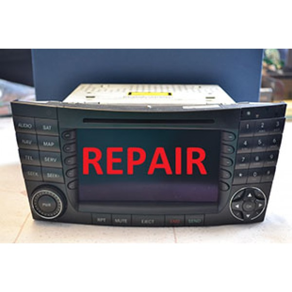 MERCEDES E AND C COMAND UNIT REPAIR