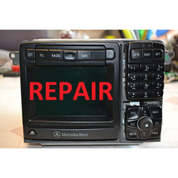 MERCEDES OLD S COMMAND UNIT REPAIR