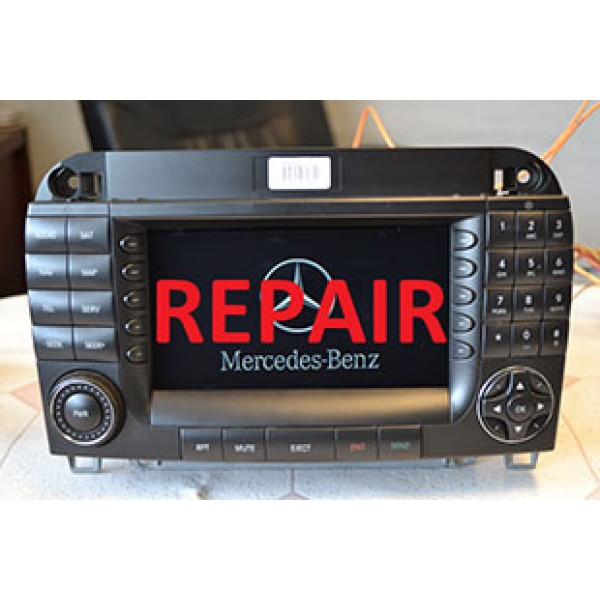 MERCEDES S COMAND UNIT REPAIR